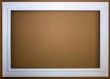 White Step Frame- 40 X 26.5$250