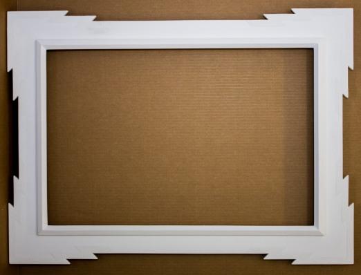 Seamless White Frame - 22 X 33 - $300