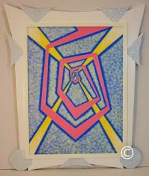 Spiral - Image 27 x 20 - Frame 35 x 29.25 - $2,000
