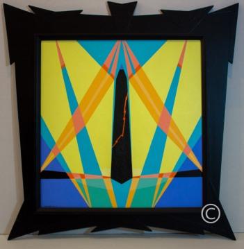 Crack - Image 21 x 20 - Frame 29 x 28 - $1,400