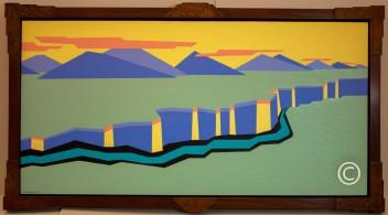 Rio Grande - Image 24 x 48 - Frame 28 x 52 - $3,750