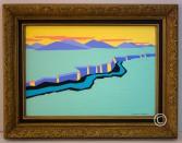 Rio Grande (Study) - Image 13.5 x 19.5 - Frame 20 x 26 - $900