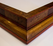 Wood Veneer Float Frame