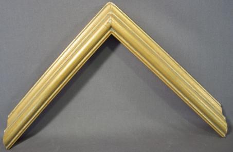 Medium Gold with Mauve Antique