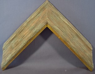 Barn Wood with Medium gold and heavy andtique